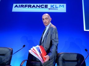 CEO Jean-Marc Janaillac presented Air France-KLM's first-half results