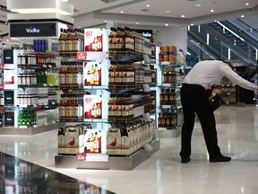 A Duty Free shop at Terminal 2 at Heathrow