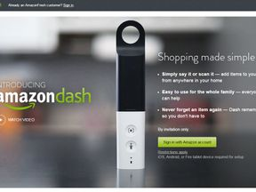Amazon's Dash stick is available to customers in parts of London now