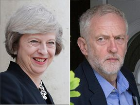 Theresa May Is Ahead Of Jeremy Corbyn In The Polls