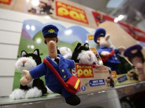 A Postman Pat soft toy