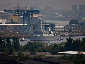 HMS Daring Sets Sail For The First Time