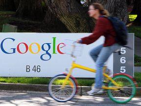 Google's Mountain View headquarters