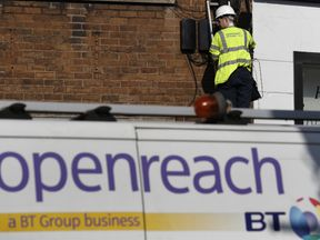 Openreach develops and maintains the telecommunications network