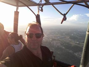 Skip Nichols, the hot air balloon pilot, was among those killed. Pic: Facebook