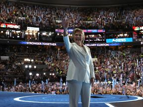 Hillary Clinton has accepted the Democratic nomination to run for president