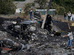 MH17 plane crash