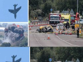 Plane Crashes At Shoreham Airshow