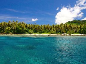 The Kosrae Nautilus resort was developed in the 1990s and is popular with divers and fishermen