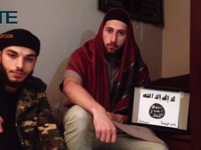 Abdelmalik Petitjean and Adel Kermiche pledge allegiance to Islamic State's leader