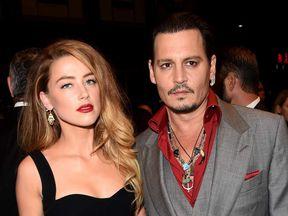 Amber Heard and Johnny Depp