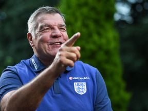 New England manager Sam Allardyce is set to speak to the media on Monday morning
