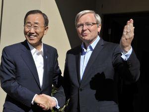 Former Australian PM Drops Bid For UN Top Job