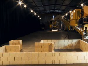 Watch Robot Builder Construct House In Two Days