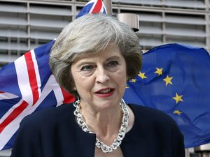 Theresa May's Brexit Pledge On Belfast Visit