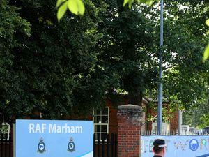 RAF Marham Attacker Headbutted By Victim