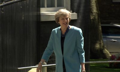 May appoints Hammond, Boris Johnson to key Cabinet posts