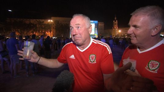 Cardiff comes to standstill to welcome home heroes
