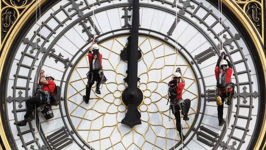 Great Clock maintenance