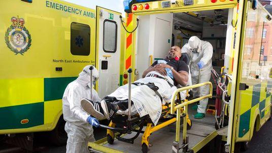 UK ebola drill.