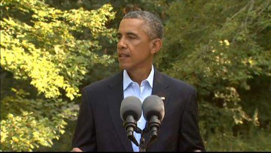 Obama Iraq Briefing 110814