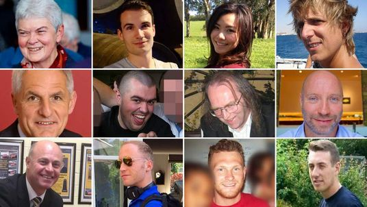 Composite of MH17 victims