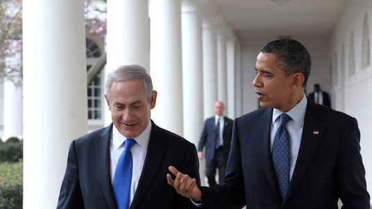 Obama Meets With Israeli PM Netanyahu At White House