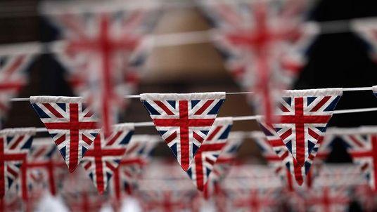 Union Jack Flag Bunting GENERIC