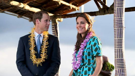 Prince William and Kate in SOLOMON ISLANDS