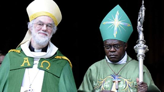 Archbishop of Canterbury Dr Rowan Williams and Archbishop of York Dr John Sentamu