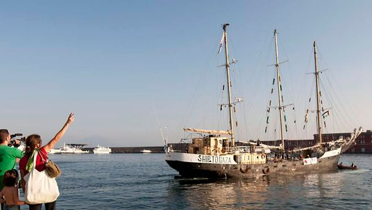 Estelle ship headed to Gaza