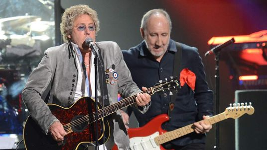 Roger Daltrey and Pete Townshend, of The Who.
