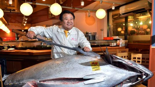 Record Tuna Auction