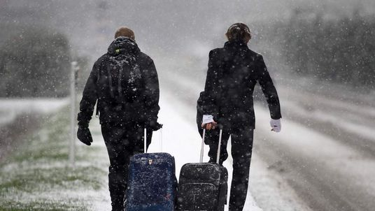 UK Hit By Heavy Snow Fall
