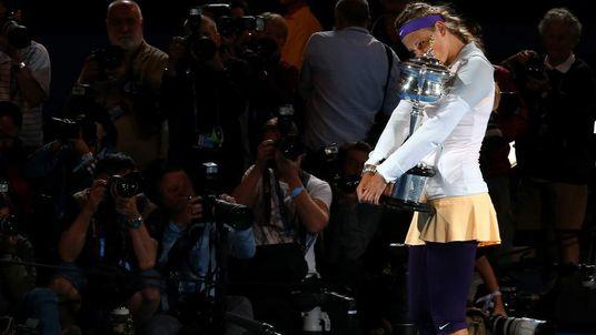 Azarenka wins Australian Open title
