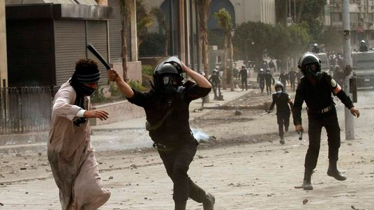 Egypt clashes.