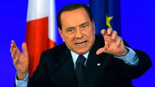 Silvio Berlusconi at the G20 summit in Cannes