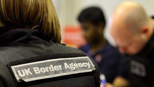 UK Border Agency Worker