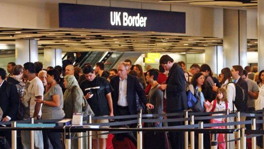 Heathrow immigration queues