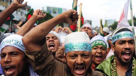 BANGLADESH-POLITICS-UNREST-RELIGION-BLASPHEMY