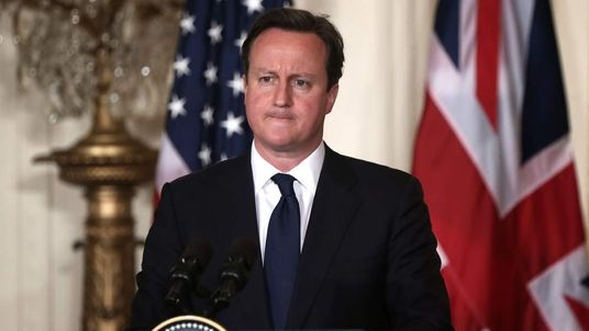 David Cameron at the White House