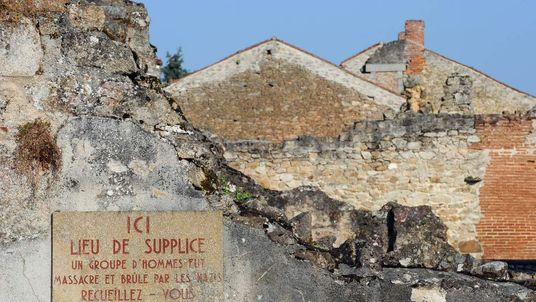 Oradour-sur-Glane Massacre France
