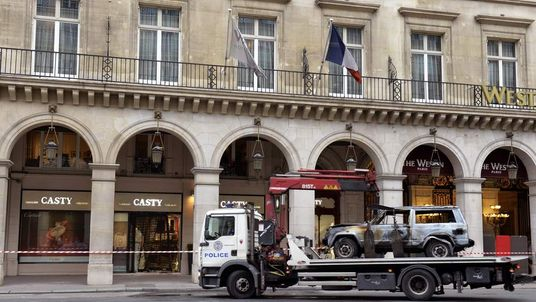 FRANCE-CRIME-RAM-RAID Casty Paris