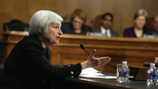 Fed Chair nominee Janet Yellen testifies at a Senate confirmation hearing