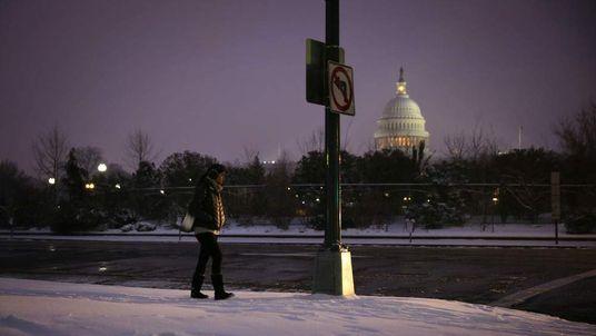 Strong Winter Storm Bears Down On Northeastern U.S.