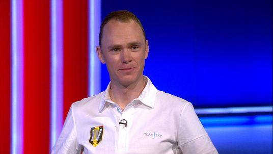 Chris Froome told Sky News it was a special feeling to win a third Touer de France