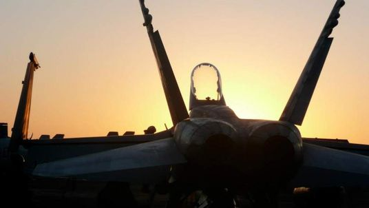 The Hornets on the Eisenhower can operate in all weathers as well as by day or night