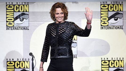 Sigourney Weaver at Comic-Con