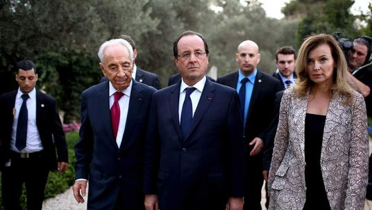 French President Visits Israel