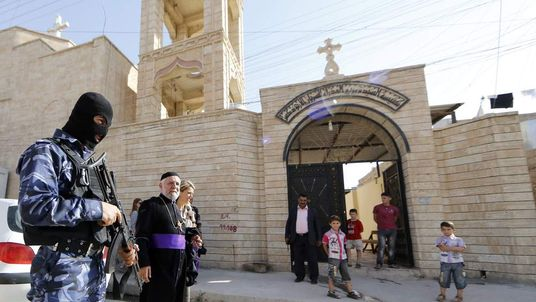 IRAQ-UNREST-CHRISTIANS